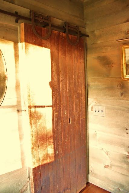 Barn Door To Bathroom Doors Pinterest
