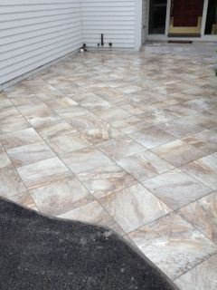 Patio Ceramic Tile Outdoor Tiles Can Spruce Up Your Patio Bathroom ...