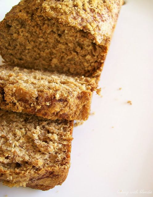 Honey Whole Wheat Banana Bread   Sweet tooth   Pinterest