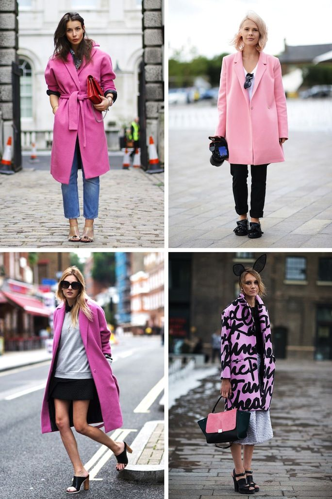 going to need a pink coat this winter...