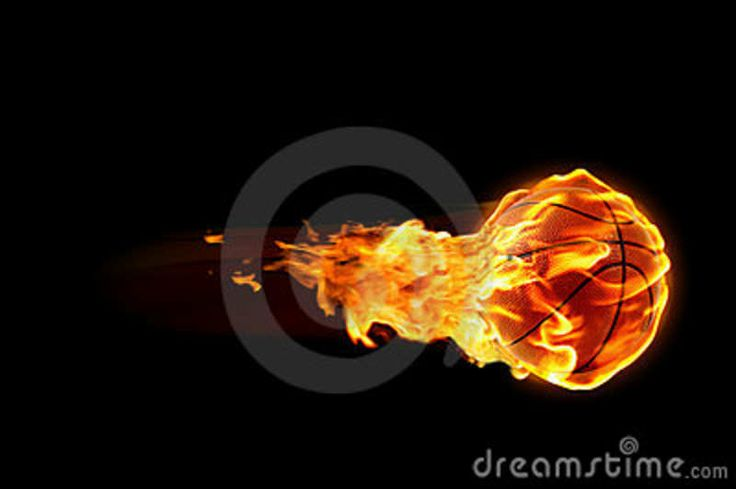 basketball-flames- | FLAMES | Pinterest