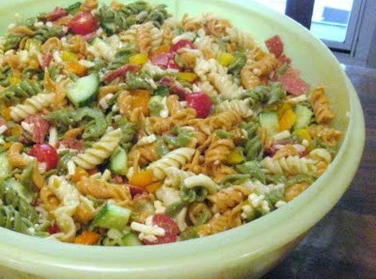 Garden Pasta Salad | lost | Pinterest