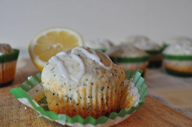 Lemon Poppy Seed Muffins-Super moist and very lemony! Best I have ever ...