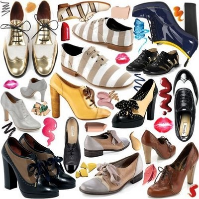 i am crazy about oxfords!