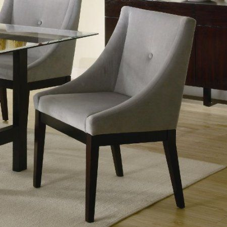 Amazon.com: Set of 2 Upholstered Dining Side Chairs: Home & Kitchen