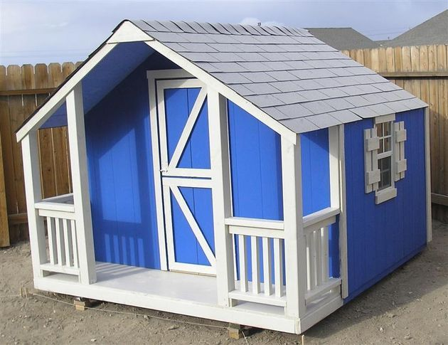 Simple playhouse plans playhouse plans playhouse ideas for Easy to build playhouse