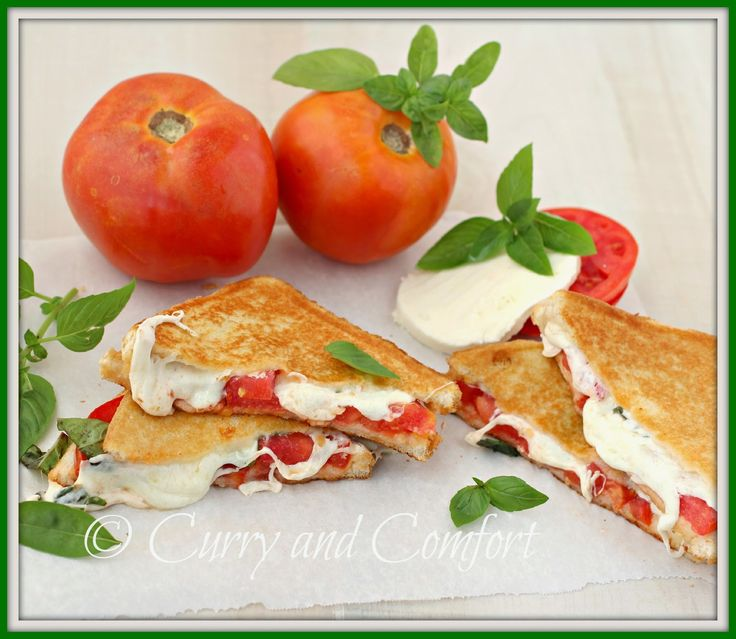 Caprese Grilled Cheese Sandwich | Food I Dig | Pinterest
