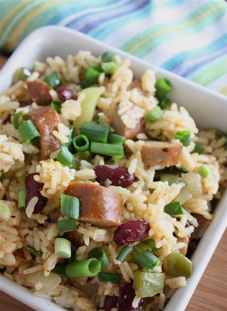 Dirty Rice with Andouille Sausage [looks like my pork fried rice ...