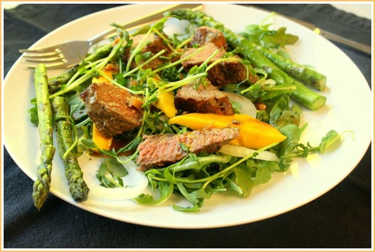 Grilled Steak And Tomato Salad With Rum Vinaigrette Recipes ...