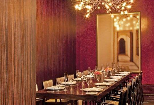 RIA Private Dining Room Waldorf Astoria Chicago