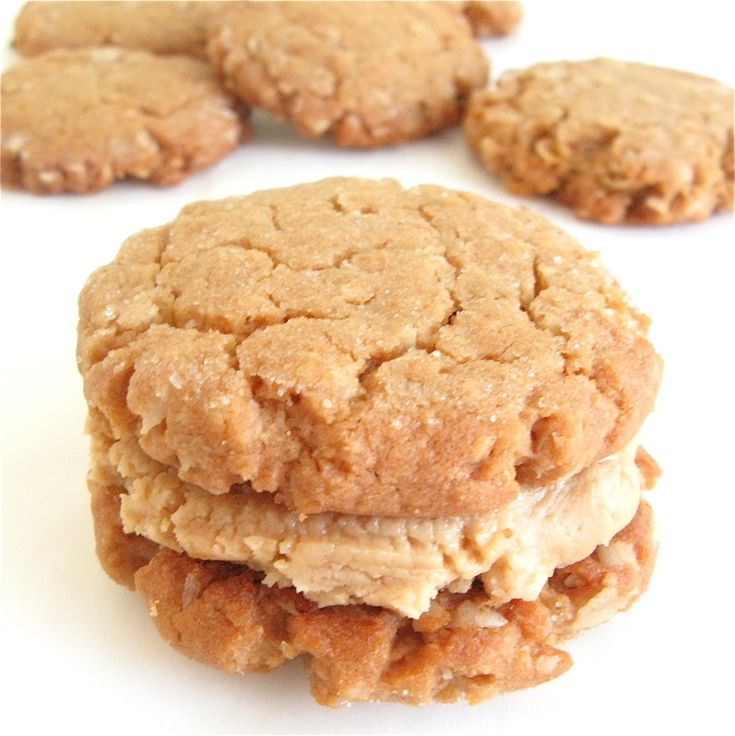 Peanut Butter-Oatmeal Sandwich Cookies | Recipe