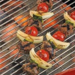 Greek Lamb Kabobs With Yogurt-Mint Salsa Verde Recipes — Dishmaps