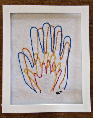 Family hand portrait