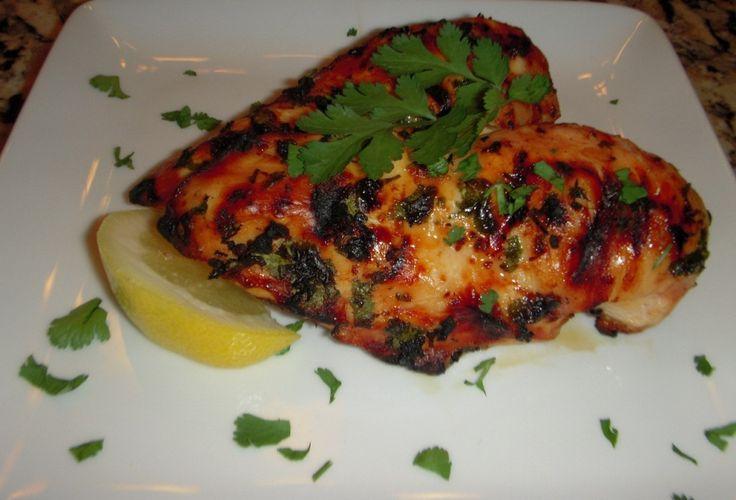 Grilled Cilantro Lemongrass Asian Chicken Recipe - FabFoodies