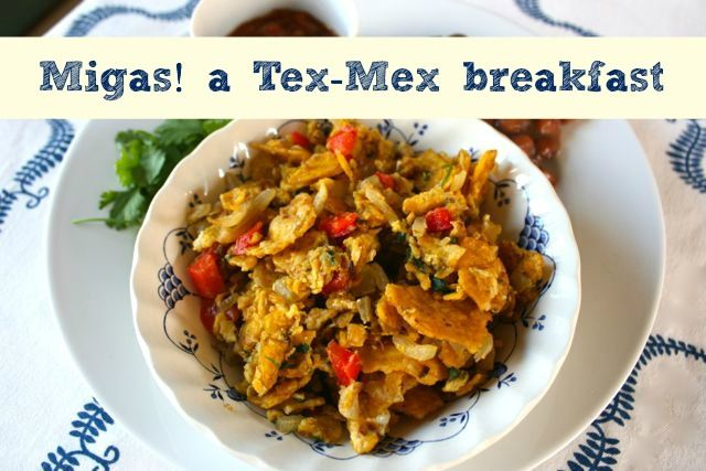 Eggs scrambled with corn tortillas and peppers :: From this Friday's ...