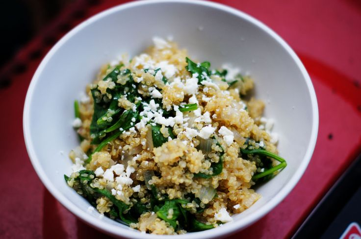 Spinach and Feta Quinoa | Food | Pinterest