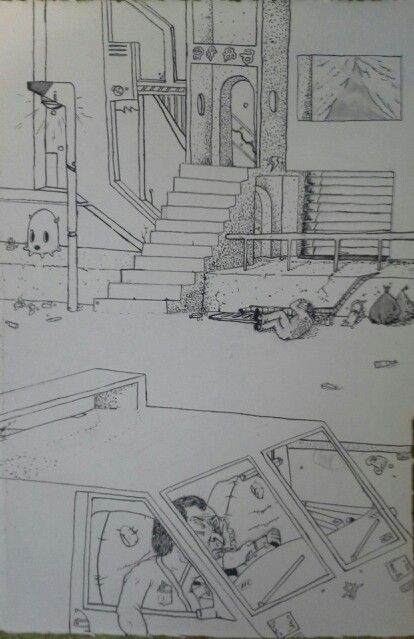 Bad Neighborhood Drawings Pinterest