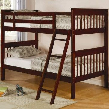 Coaster twin over twin slat bunk bed dimensions height 59 quot width
