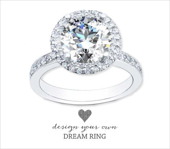 Design Your Own Engagement Ring WEDDING Pinterest