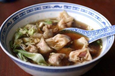 Wonton soup! So versatile - I followed the wonton filling recipe and ...