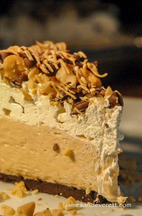 No-bake Peanut Butter Cream Pie | Desserts to Try | Pinterest