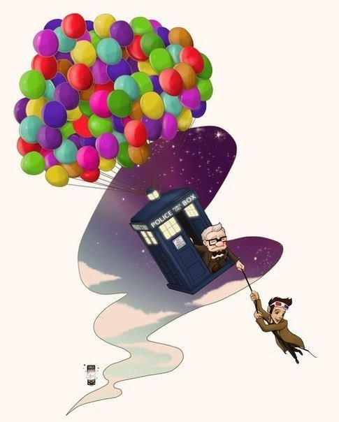 Up Doctor Who Mashup