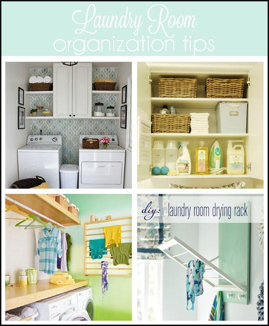 Laundry Room Organization Tips Organizing Ideas Pinterest