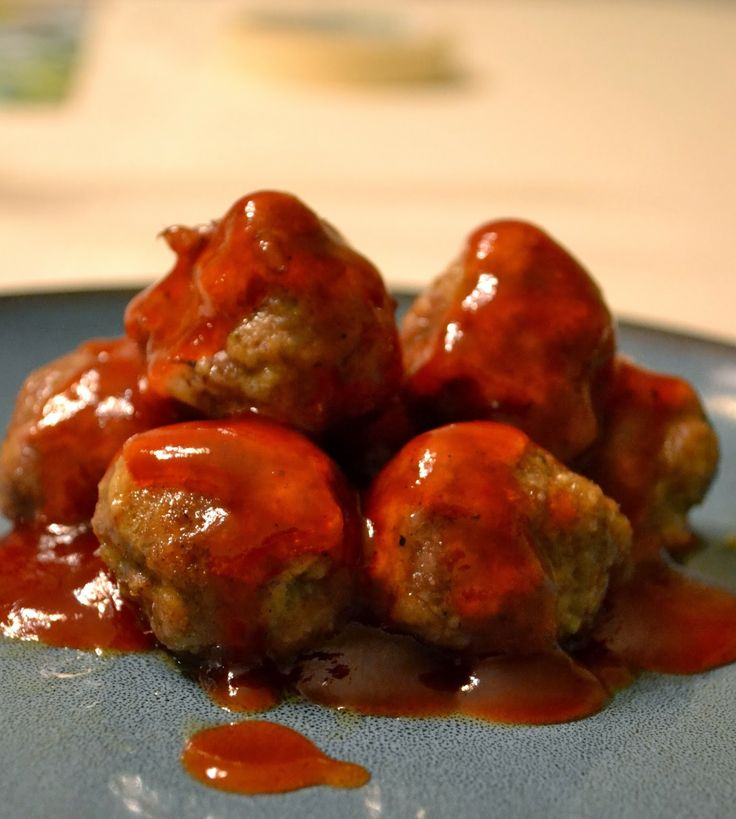 elk meatballs with bourbon barbecue sauce bourbon meatballs recipe ...
