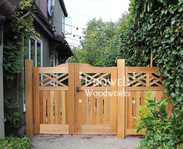 colonial wood fence design decor pinterest
