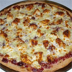 Brie Cranberry and Chicken Pizza - Allrecipes.com