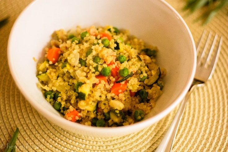 Quinoa With Veggies Recipe — Dishmaps