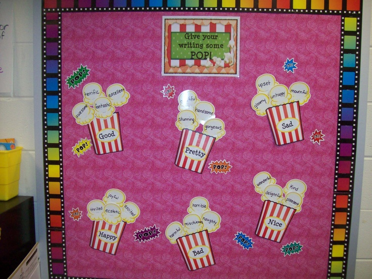 great workshop printables and bulletin board idea