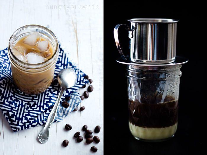Vietnamese iced coffee (Cà Phê Sữa Đá) - Amazing coffee!!! Works ...