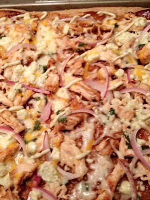 BBQ Chicken Deluxe Pizza Recipe — Dishmaps