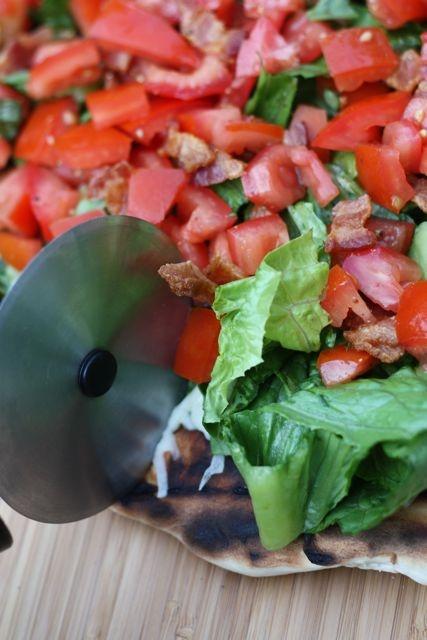 Grilled BLT Pizza | Good Eats | Pinterest