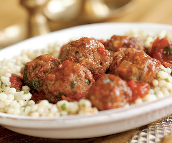Spicy Meatballs with Fragrant Tomato Sauce | Recipe