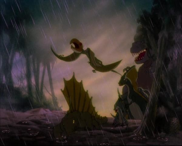 From the tyrannosaurus rex in quot the rite of spring quot fantasia 1940