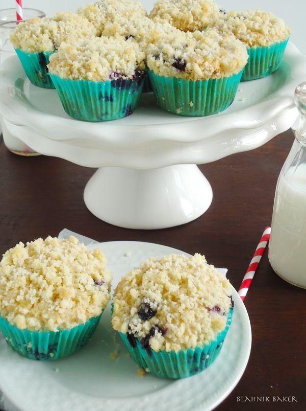 brown butter blueberry muffins | www.blahnikbaker.com