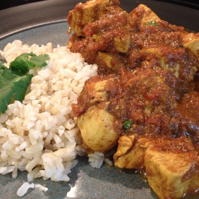 Homemade Skinny Chicken Tikka Masala. Recipe by @Skinnytaste. Prepared ...