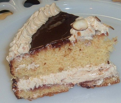 Filbert Gateau with Praline Buttercream From Great Cakes by Carol ...