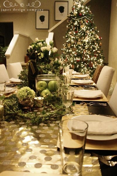 tips for decorating your christmas table