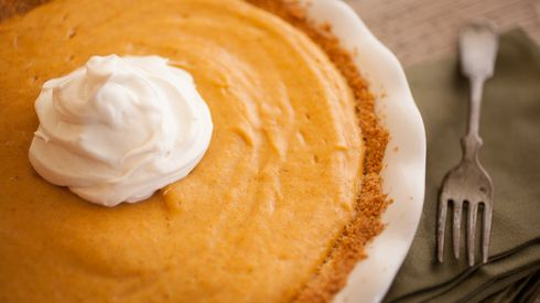 No Bake - Pumpkin Chiffon Pie | pumpkin dreams | Pinterest