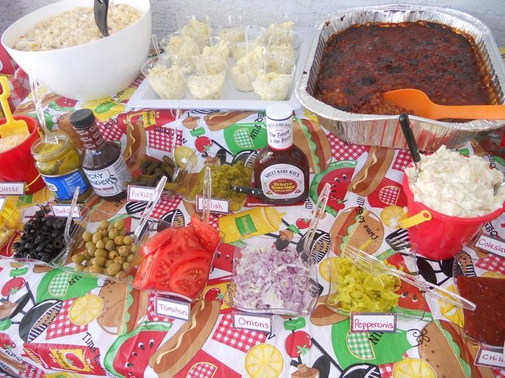 Hamburger buffet rezepte suchen for Burger themed birthday party