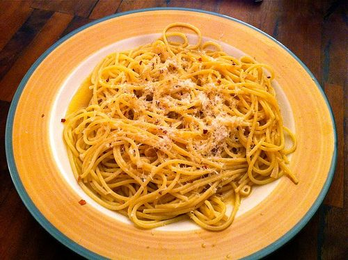 Weary Traveler's Spaghetti - This just sounds so comforting.