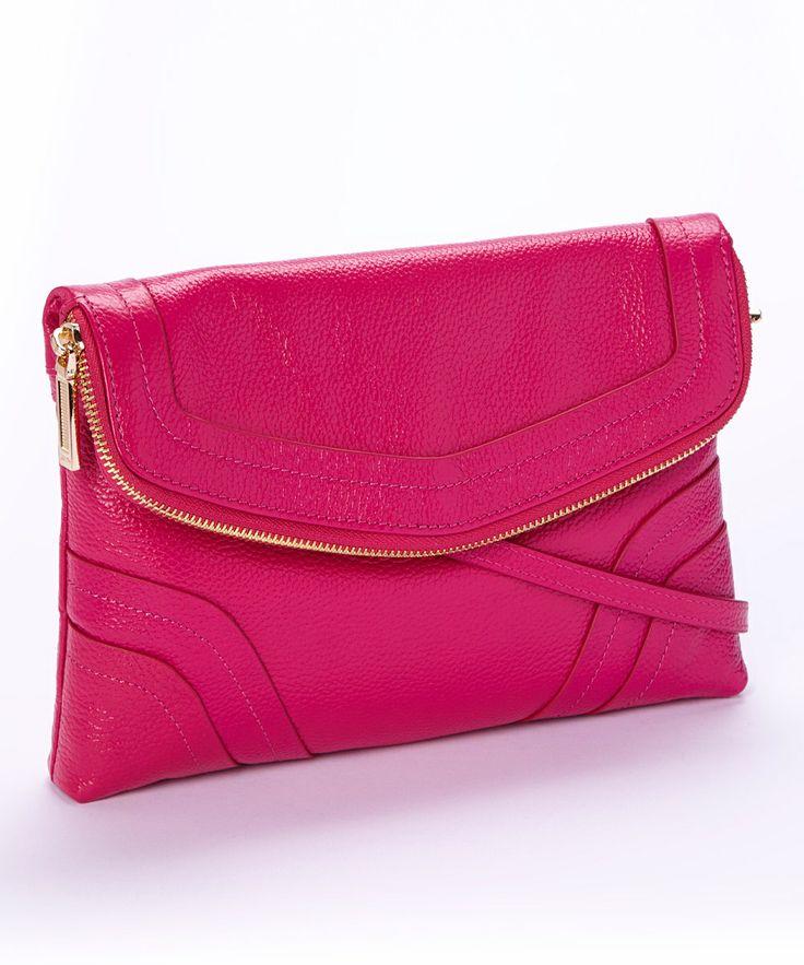 Zenith Leather Crossbody Bag 81