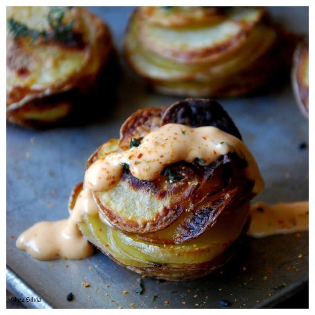 Patatas Bravas With Ham And Egg Recipes — Dishmaps