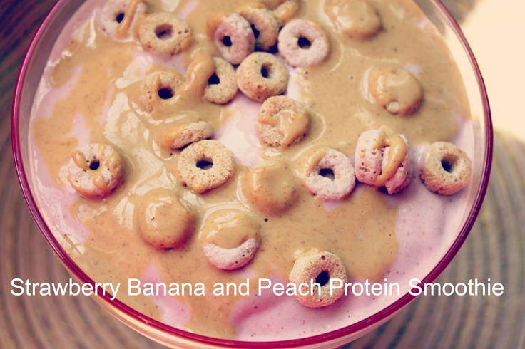 Strawberry, Peach, and Banana Smoothie | Diva Eats