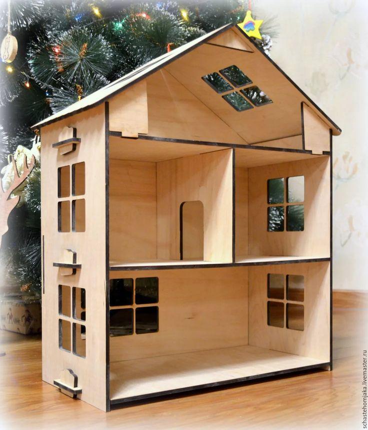 Кукольные домики своими руками фото из фанеры  164