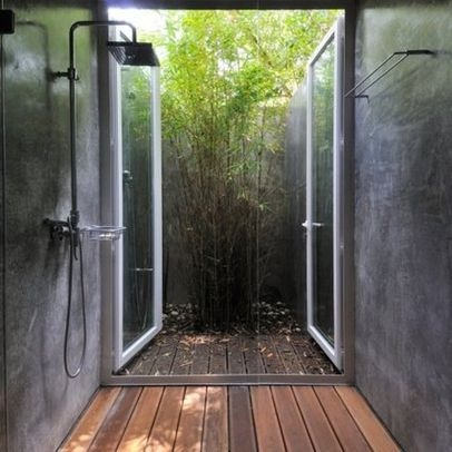 Indoor Outdoor Shower Home Interiors Decor Pinterest