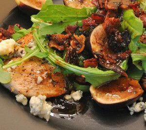 Slow cooker chicken with figs and blue cheese.Figs,balsamic vinegar ...
